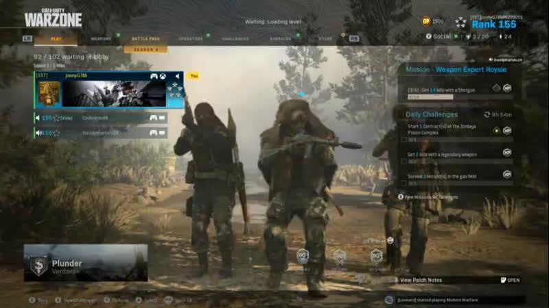 Call of Duty Modern Warfare - Warzone @JonnyG786