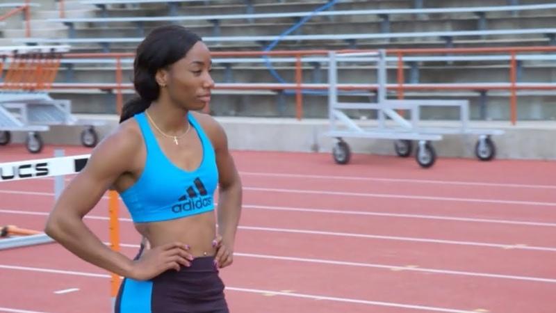 Workout Wednesday: Kendra Harrison Kori Carter Hurdle Training