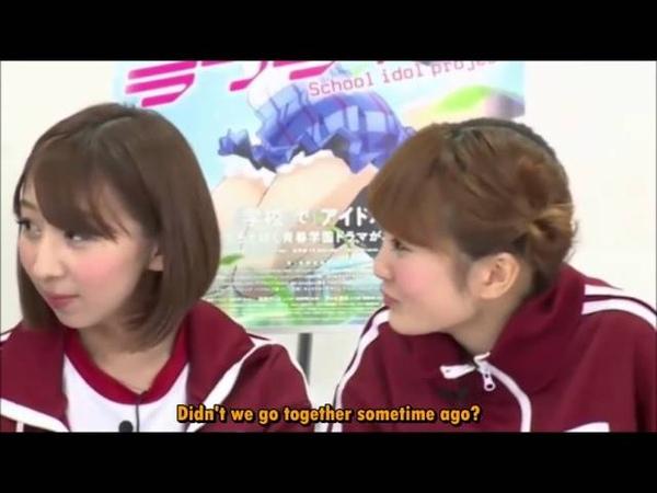 What happens if Maki Eli Nozomi and Honoka go to an amusement park