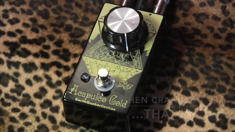 Earthquaker Devices ACAPULCO GOLD classic Sunn Model T Distortion