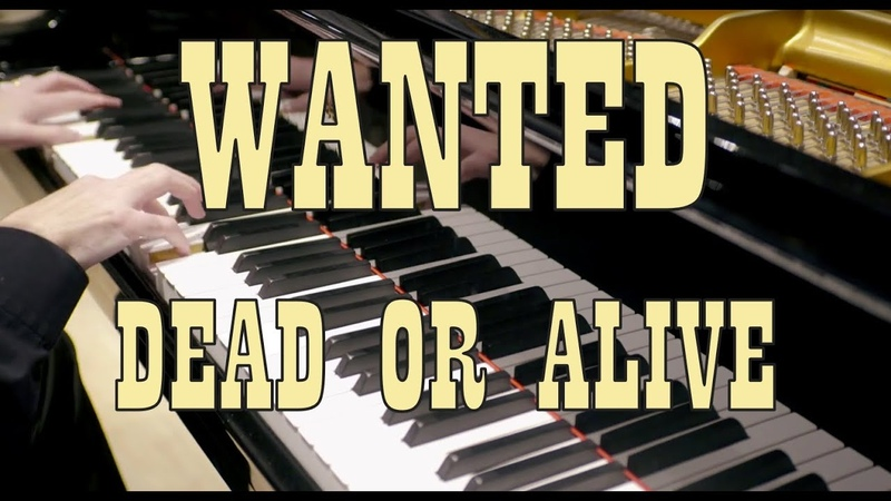 Bon Jovi Wanted Dead Or Alive HD Piano Cover play by ear by Fabrizio Spaggiari ♫♫♫