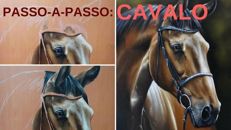 Como pintar um cavalo Descubra os segredos nessa pintura passo a passo