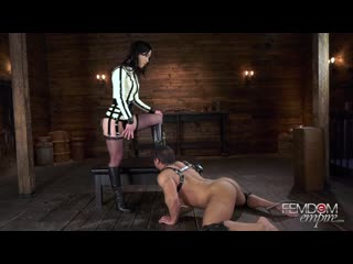 [FemdomEmpire.com] Diana Grace - Boot Groveling Bitch [Femdom, Boot Worship, Boot Licking, Chastity, Stockings]