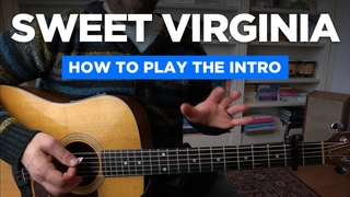 Learning the Sweet Virginia intro riff (Rolling Stones guitar lesson)