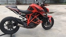 Ktm 1290 superduke r SC project decat exhaust sound