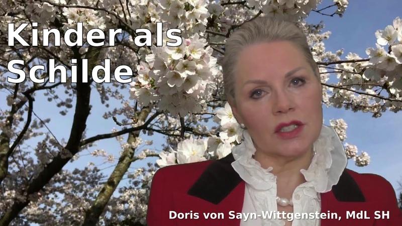 Doris von Sayn Wittgenstein Kinder als Schilde