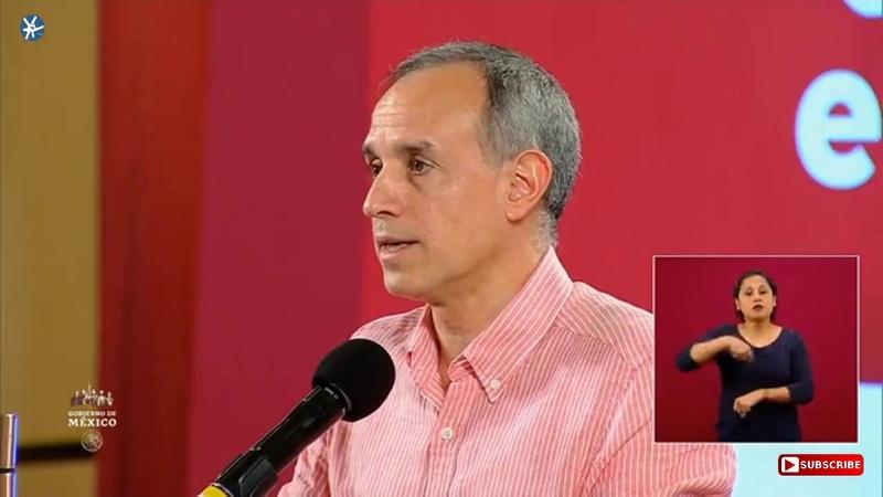 Conferencia Dr Hugo López Gatell Viernes 5Julio 2020 GraciasPorCuidarnos NuevaNormalidad 🚦🚦🚦
