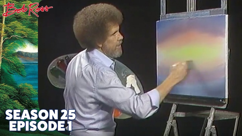 Bob Ross Hide A Way Cove Season 25 Episode 1
