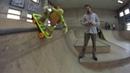 Черепашка Ниндзя на скейте в скейтпарке Смена. Гонки на вездеходах Lego и как Мотя раздаёт трюки.