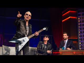 Вечерний Ургант. Scorpions  Rock You Like A Hurricane ()