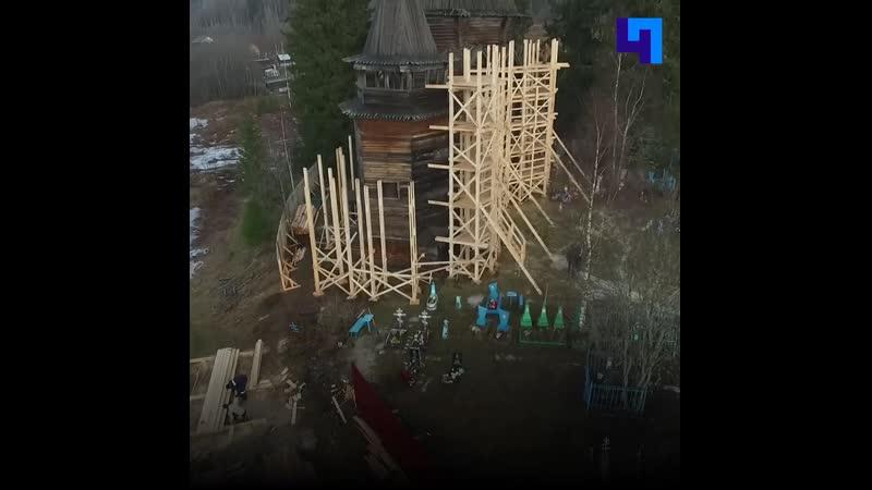 В Согиницах приступили к реставрации многовекового храма Николая Чудотворца