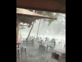 В Австралии как-то так после пожаров