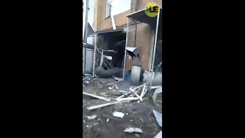 На Борисоглебской трикотажной фабрике произошёл взрыв Взрывная волна выбила двери и окна в помещении