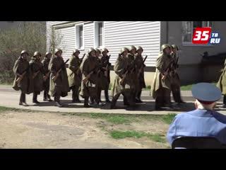 В Вологде парады Победы прошли  под окнами домов ветеранов