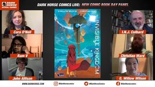 Dark Horse Comics: NCBD Panel June 17, 2020 Panel with Special Guests [recording]