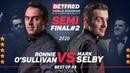 СНУКЕР - ЧМ 2020, Полуфинал, Р.ОСалливан - М.Селби/Snooker, World Champ. 2020, OSullivan - Selby