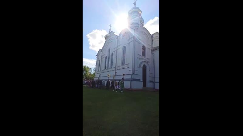 Крестный ход на прмч Макария игумена Каменецкого