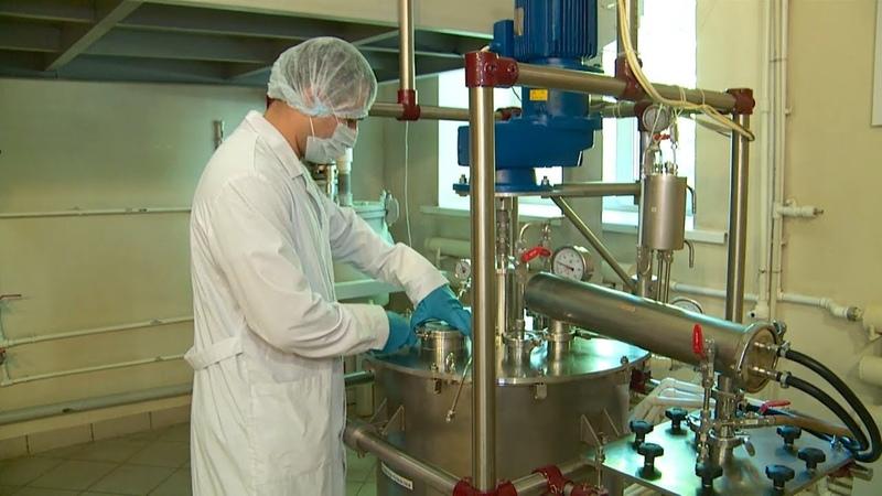 В Бийске делают противовирусный препарат для лечения коронавирусных больных Бийское телевидение