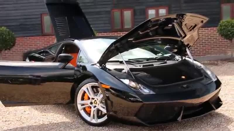 Lamborghini Gallardo LP 550-2 2dr E Gear Coupe LHD Automatic in Nero Noctis 2012