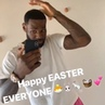 """""""Longest my hair's been in a long time. Might keep it, though""""Bron's feeling good on Easter morning"""""""