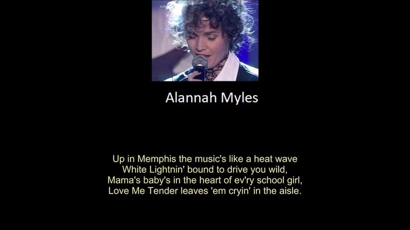 CANADA Alannah Myles Black Velvet