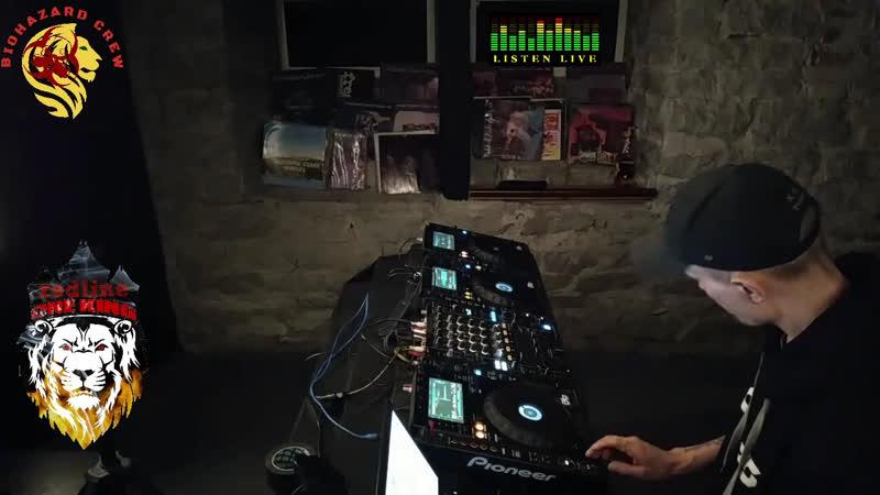 Redline ( biohazard_crew ) dnb live set