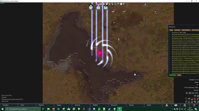 TiberiumRim Ion Cannon TELEFONMAST