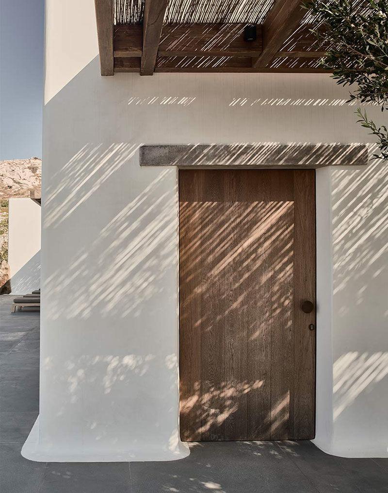 Вилла на Миконосе, вдохновленная средиземноморским и скандинавским стилями || 02