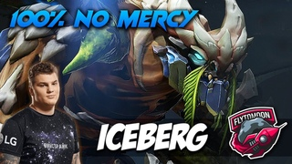 ICEBERG TINY 100% NO MERCY - Dota 2 Pro Gameplay [Watch & Learn]