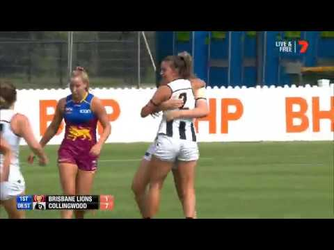 Brisbane Lions v Collingwood Match Highlights Round 6 2020 NAB AFL Women's Competition