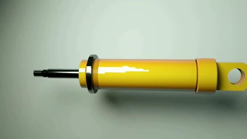 Гидроцилиндры Устройство и работа односторонних двухсторонних телескопических цилиндров 0 0 mp4