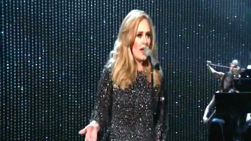 Adele Performs Skyfall at the 2013 Oscars 85th Academy Awards Full HD official