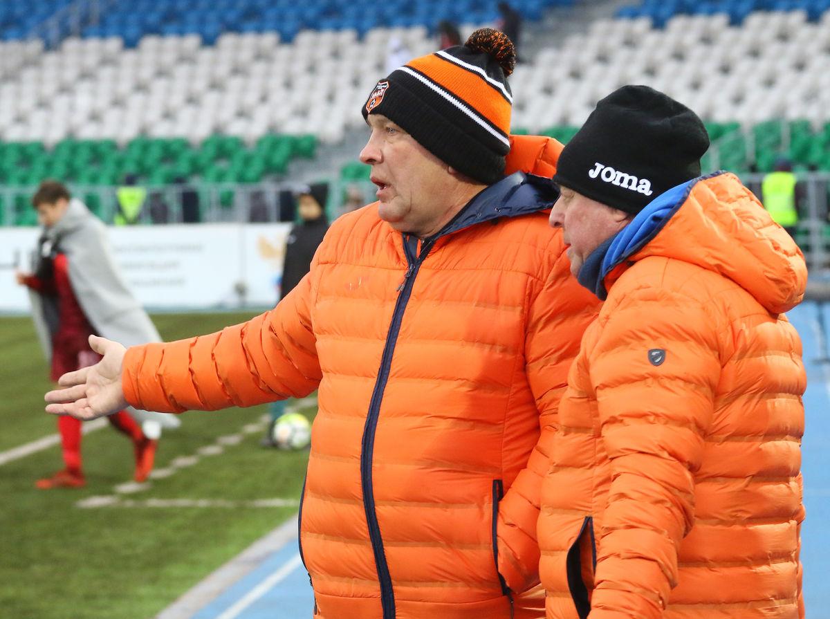 Президент Урала Григорий Иванов и Александр Тарханов