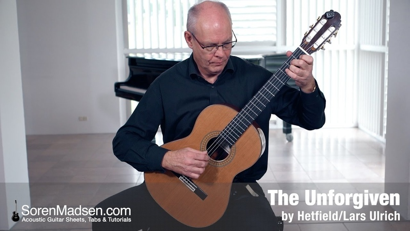 The Unforgiven by Metallica Danish Guitar Performance Soren Madsen