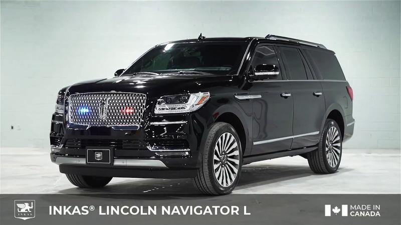 INKAS® Armored 2020 Lincoln Navigator L