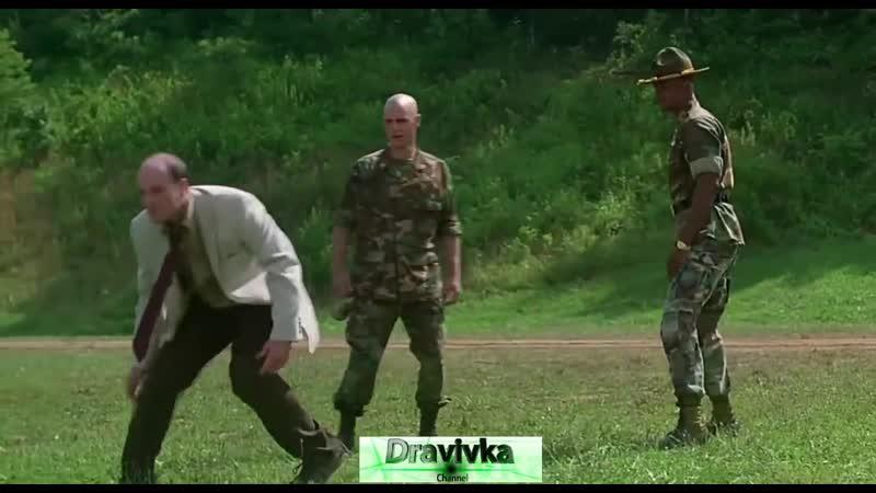Майор Пейн заступается за кадета отрывок из фильма Майор Пейн Major Payne 1995