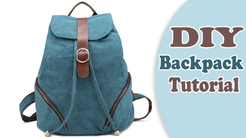 DIY ADORABLE BACKPACK TUTORIAL FROM SCRATCH New Design Easy Way