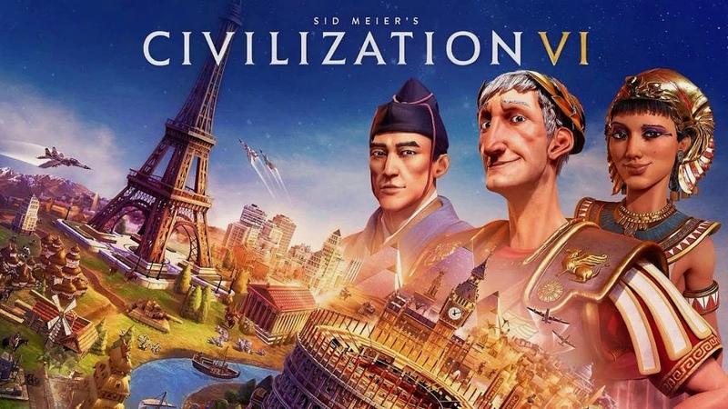Sid Meier's Civilization VI Цивилизация 6 20 лет не играл Москва Питер и Смоленск