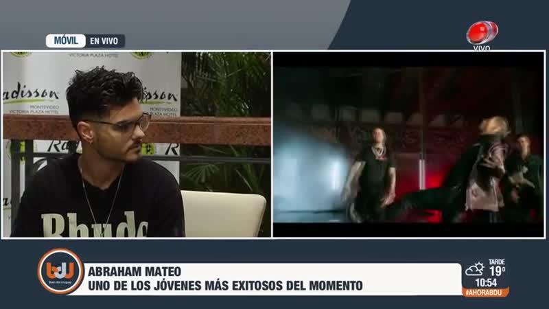 Buen día Uruguay Abraham Mateo 26 de Octubre de 2018