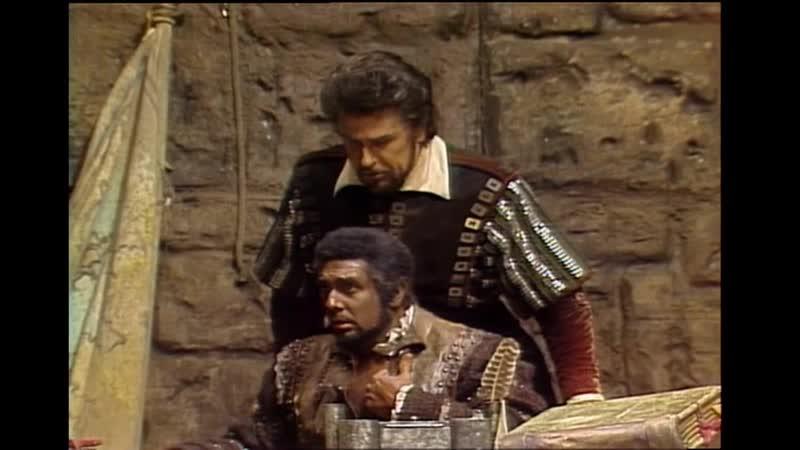 Otello - Plácido Domingo, Sherrill Milnes, Cruz Romo, Levine, MET 1979