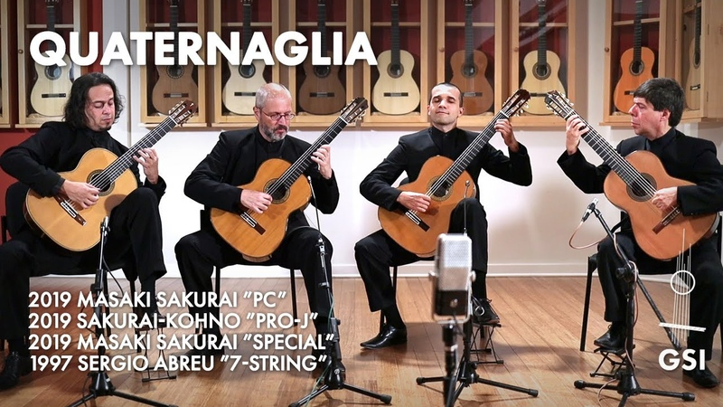 Paulo Bellinati's A Furiosa played by the Quaternaglia on Sakurai and Sakurai Kohno guitars