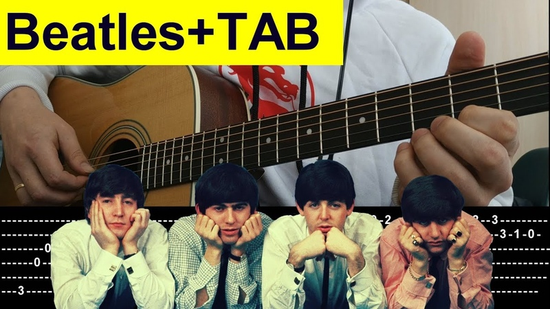 How to play Beatles Yesterday fingerstyle guitar