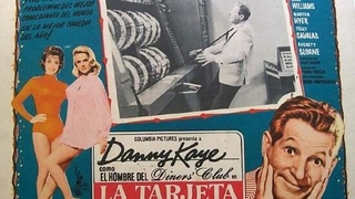 LA TARJETA MAGICA (1963) de Frank Tashlin con Danny Kaye, Cara Williams, Telly Savalas, Martha Hyer by Refasi