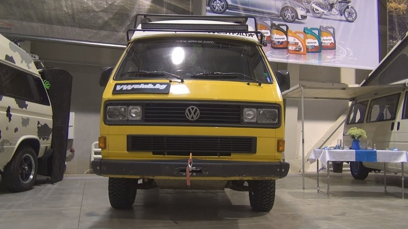 Volkswagen Transporter T3 Syncro Westfalia (1982) Exterior and Interior