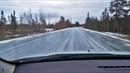 Лютые дороги России. Гололед на трассе Мурманск - Лотта.
