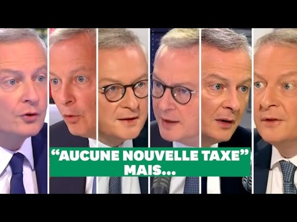 Pas de hausse dimpôts jure Bruno Le Maire. Et pourtant...