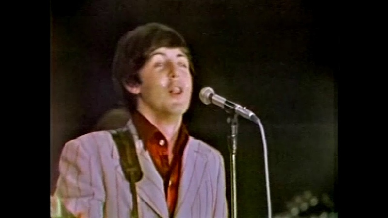 The Beatles Yesterday live 1966 music video