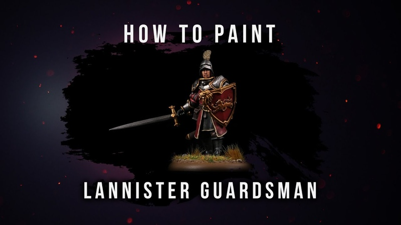 How to Paint: Lannister Guardsman.
