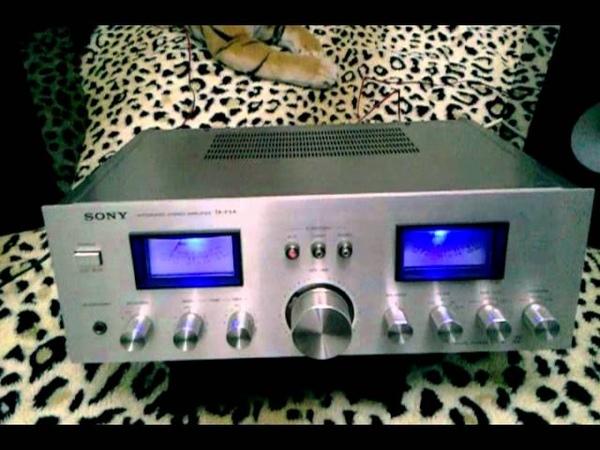 Ampli sony vintage taf f5A UNIQUE LED ECLAIRAGE 2x70 rms