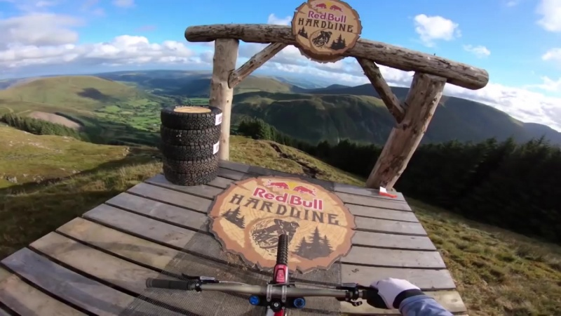 Gee Atherton Takes You Down The Hills Of Dyfi Valley In Wales, UK - Red Bull Hardline 2018